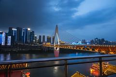 Bridge over the Yangtzee river