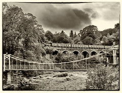 Llangollen Railway and Chain Bridge