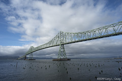 The Astoria-Megler Bridge, Astoria, Oregon