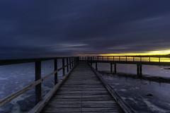 Sunrise on Hamelin Pool