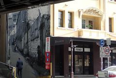 That mural in George Street ...