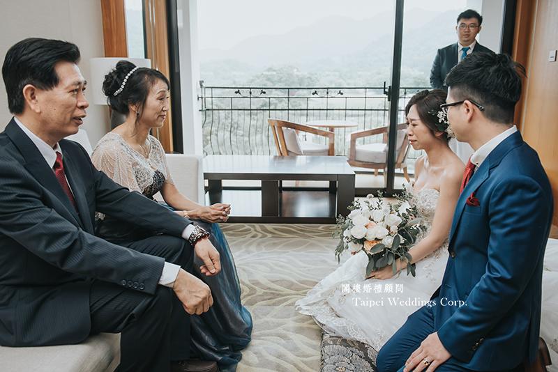 大溪威斯汀,戶外婚禮,婚顧,拜別