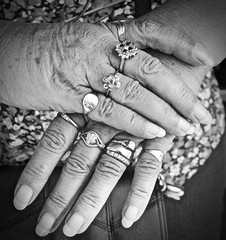 Hands of a lovely lady