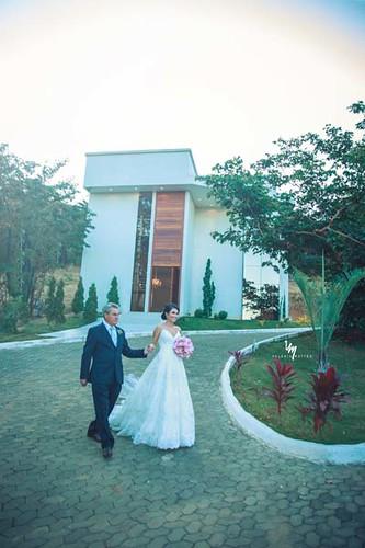O espaço VIP do Folha de Prata recebeu a noiva