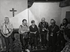 Momento di preghiera con Mons. Gianrico Ruzza, vescovo ausiliare della diocesi di Roma #Lourdes #ORP #pellegrinaggiodiocesano2019