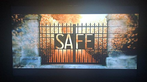 Today is all about...binge watched the full Netflix series, Safe