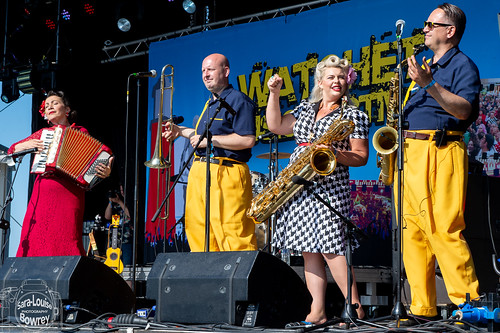 Jive Aces at Watchet Festival 2019