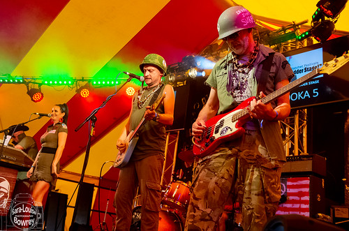Palooka 5 at Watchet Festival 2019