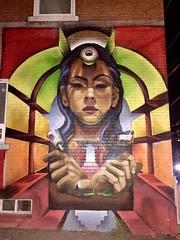 Mural on Bathurst