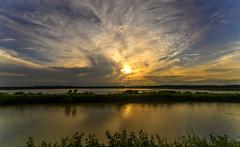 Sunset at the Bald Knob National Wildlife Refuge