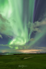 Flying under Aurora