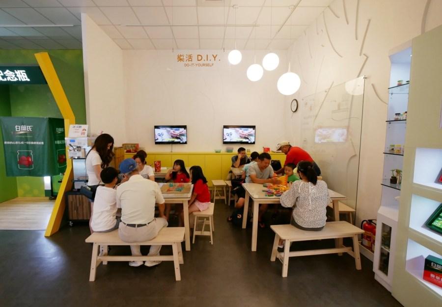 [彰化景點]白蘭氏健康博物館|免門票親子室內景點~燕窩虛擬實境隧道|免費雞精飲品試喝 @VIVIYU小世界