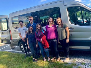 Mrs. Reynolds' Environmental Science class heads off for a 4 day STEM learning experience in Wallops Island