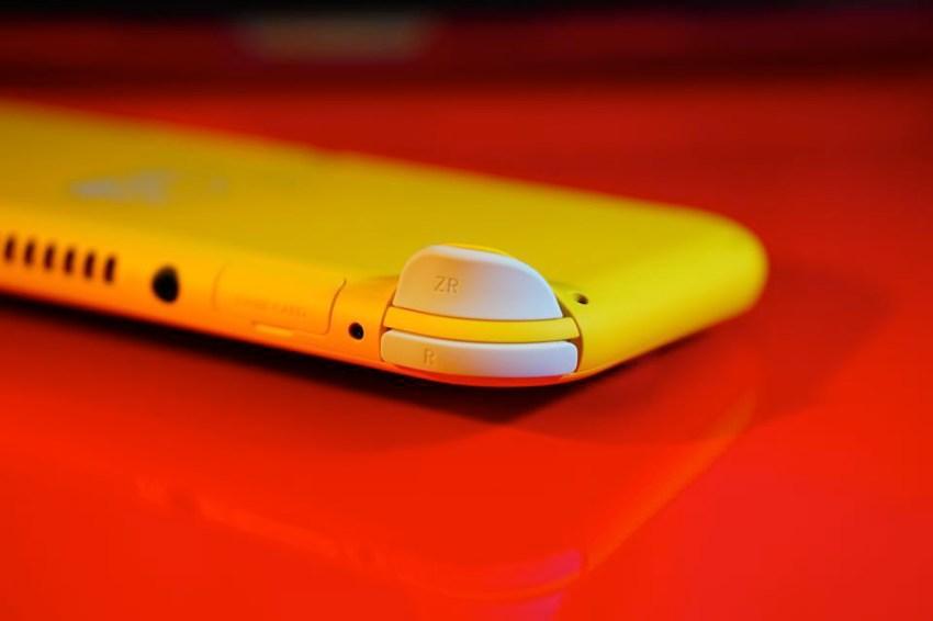 Switch Lite本体側面