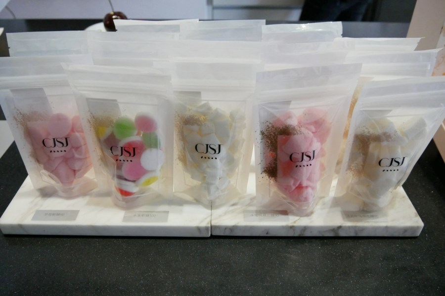 [台中美食]CJSJ 法式甜點創意店|西區必朝聖米其林三星主廚甜點~像是藝術品般閃耀 @VIVIYU小世界