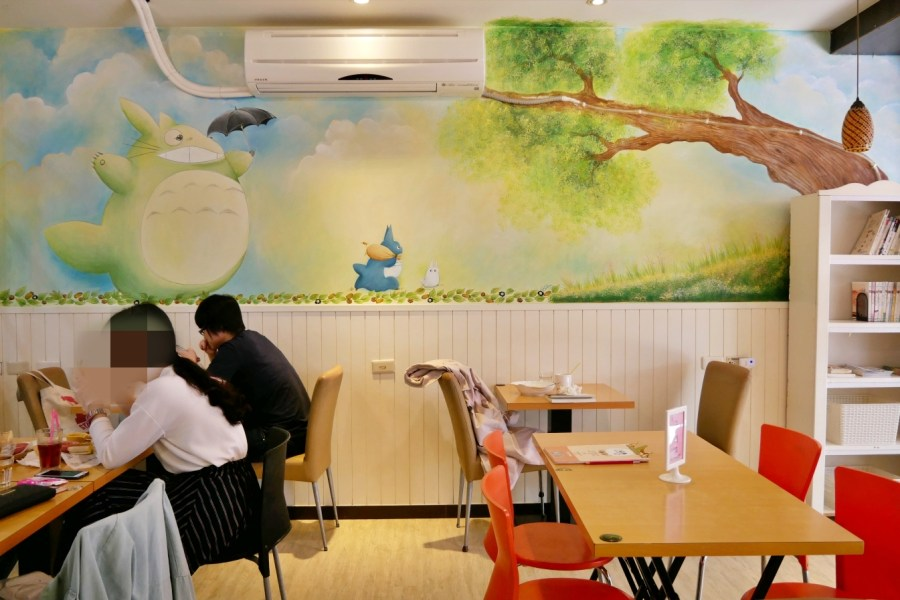 Alley Cafe,中原商圈,中原夜市,中原大學,中壢美食,人氣餐廳,寵物友善,小巷43,帕尼尼,平價早午餐,早午餐,水波蛋,班尼迪克蛋 @VIVIYU小世界