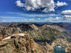 On Windom Peak looking east
