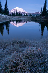 Early winter at Tipsoo Lake