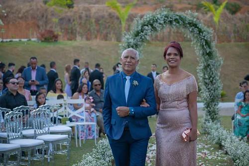 Os pais da noiva