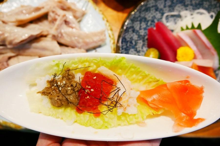 [台中美食]北屯區|新一點利黃昏市場~隱藏版無菜單料理.鵝房宮鵝肉日式概念料理 @VIVIYU小世界