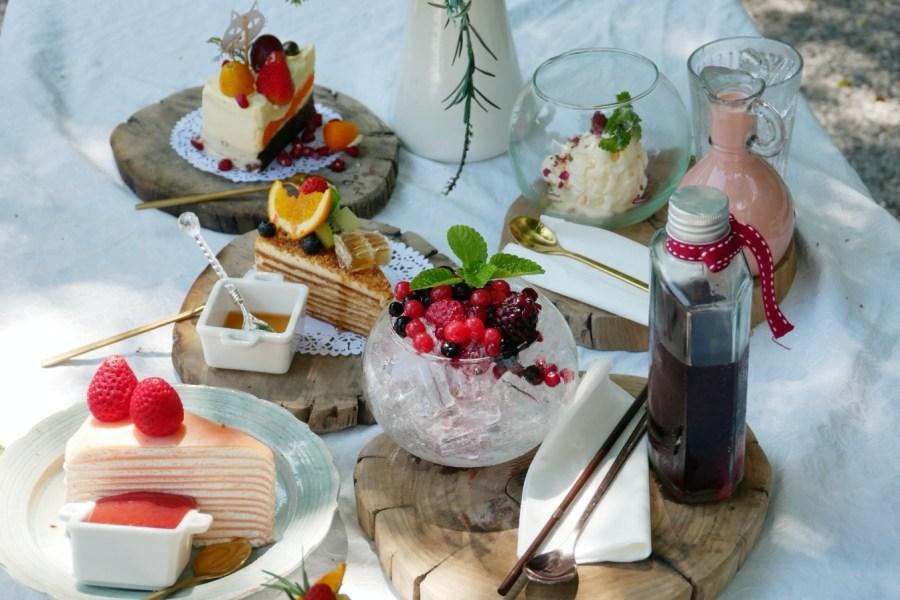 [羅勇美食]ร้านปาฎี.Pa Dee 絕美歐式花園網美咖啡館~坐在花園裡享受下午茶 @VIVIYU小世界