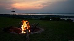 IMGP6045 Sunset around the fire