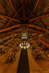 Old Faithful Inn Dining Room Geometry and Leading Lines