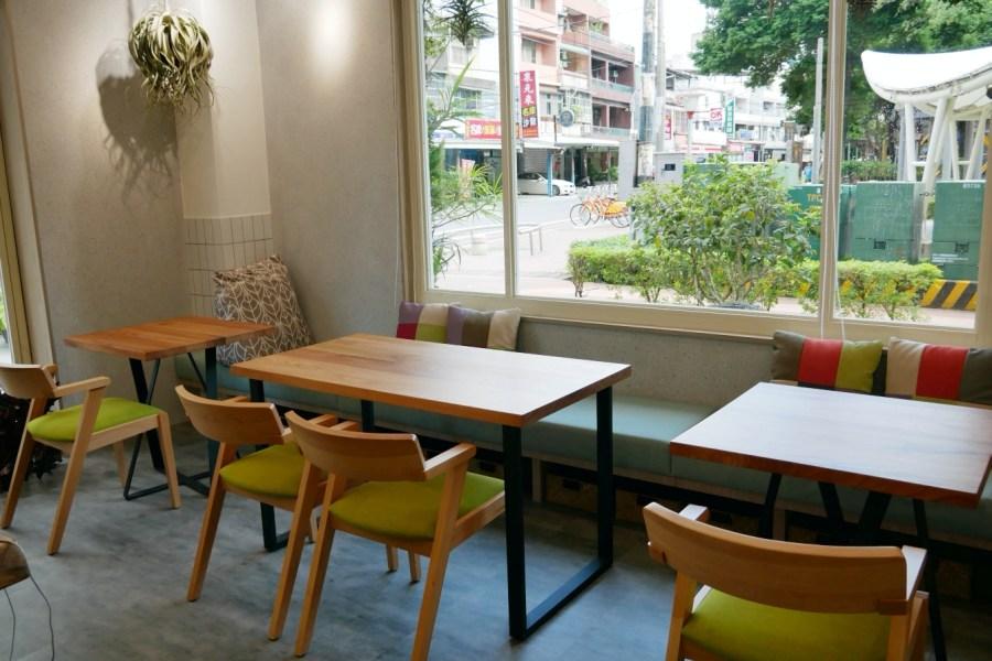 [桃園美食]Vittaria Café 書帶蕨 綠色植生牆充滿綠意~藝文特區旁.同安親子公園 @VIVIYU小世界