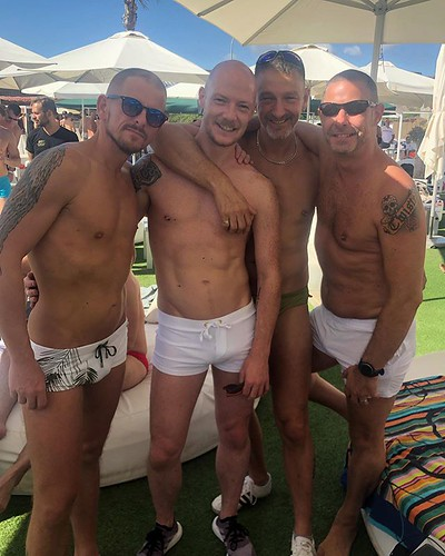 Today is all about...wet and white party