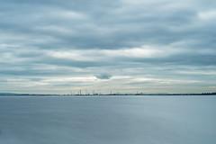 Looking across the Mersey towards Stanlow