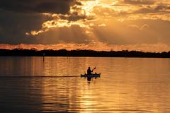 Ft DeSoto Kayak Sunset 11-18-2019