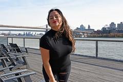 Picture Of Carolina Taken During A Fall Photoshoot At South Street Seaport In Lower Manhattan. Photo Taken Sunday November 17, 2019