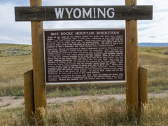 Random roadside attractions in Wyoming