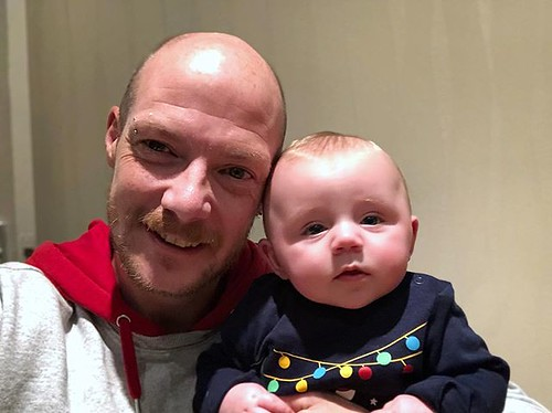 Today is all about...some quality time with the great nephew