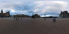 Dresden - Theaterplatz 360 Grad