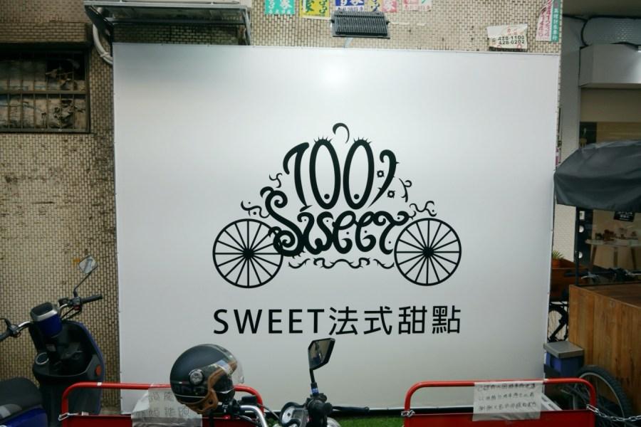 [中壢美食]Sweet法式甜點|中原商圈下午茶~從攤車進階到店面.隱藏在巷弄之中的平價甜點 @VIVIYU小世界