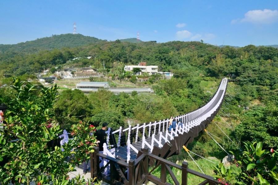 [台北旅遊]白石湖吊橋 碧山巖旁邊的龍骨吊橋‧台北市近郊一日遊景點 @VIVIYU小世界