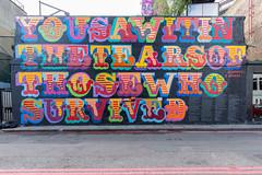 Ben Eine mural