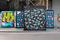 James Schuter x DRT x Nerone street art