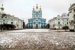 Smolny Cathedral, Petrohrad