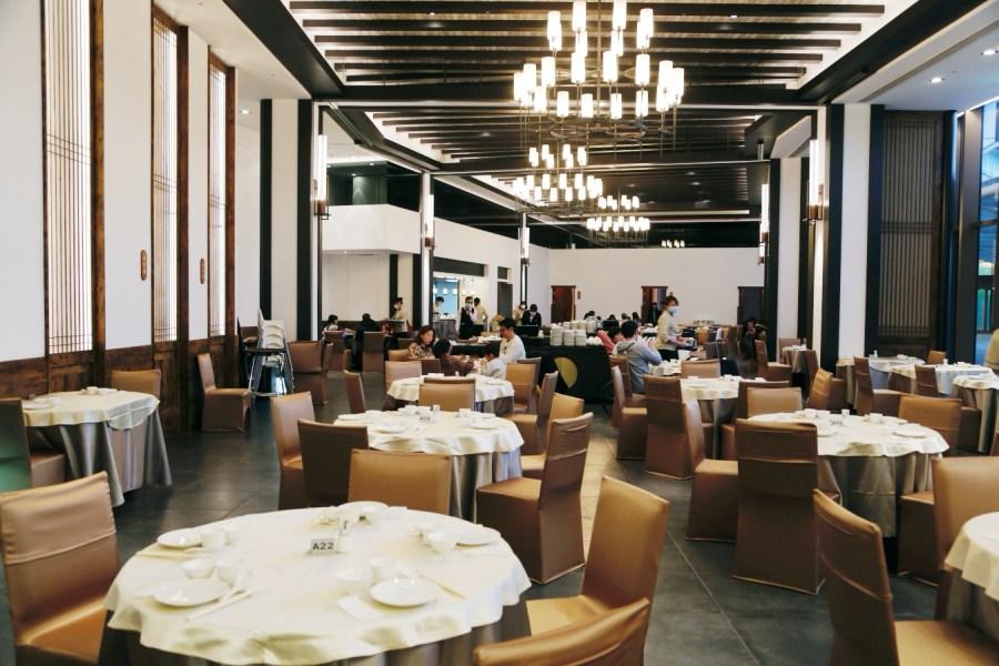 [龍潭美食]朝桂台菜港點餐廳|名人堂花園大飯店內~參觀棒球名人堂也能悠閒享用美味餐點 @VIVIYU小世界