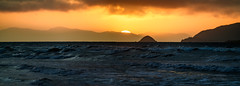 Telephoto Sunset Panorama