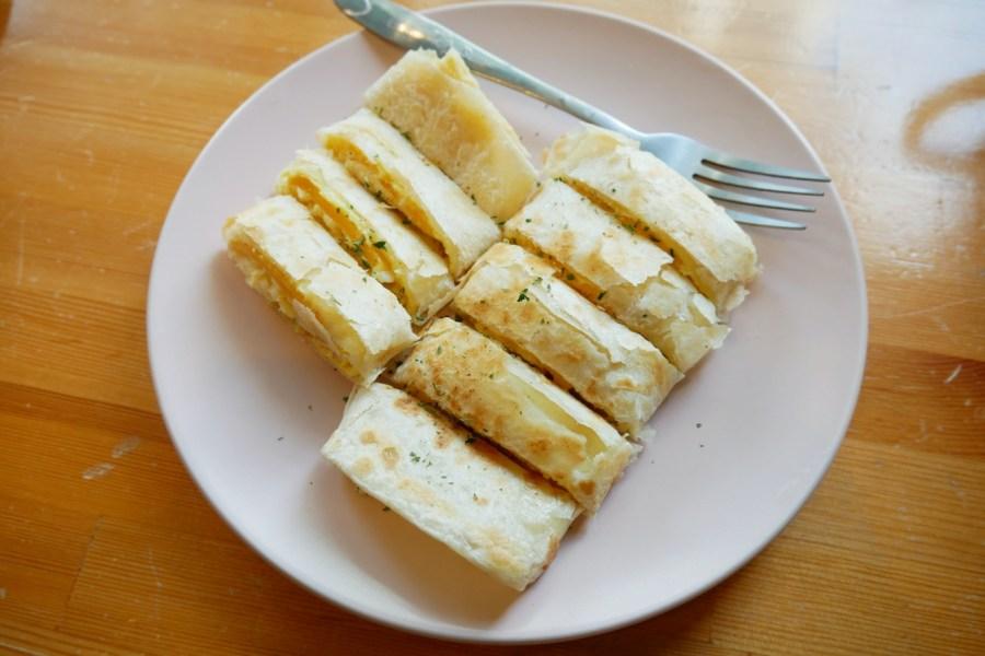 [林口美食]早安食光|林口昕境廣場附近~每月推出隱藏版吐司.3月限定版推出【提拉米蘇碳烤吐司】 @VIVIYU小世界