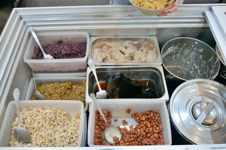 [林口美食]劉家豆花.林口老街店|豆花糖水可選豆漿更香濃~黑糖冰沙香甜.芋頭綿密滑順 @VIVIYU小世界