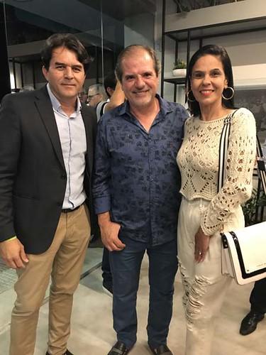 Wander Silva, Chico e Adriana Dantas