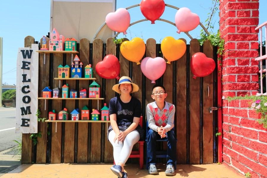 [桃園旅遊]觀音龍貓公車站|和美幼兒園旁的療癒系免費景點~夢幻糖果屋和彎腰郵筒很好拍 @VIVIYU小世界