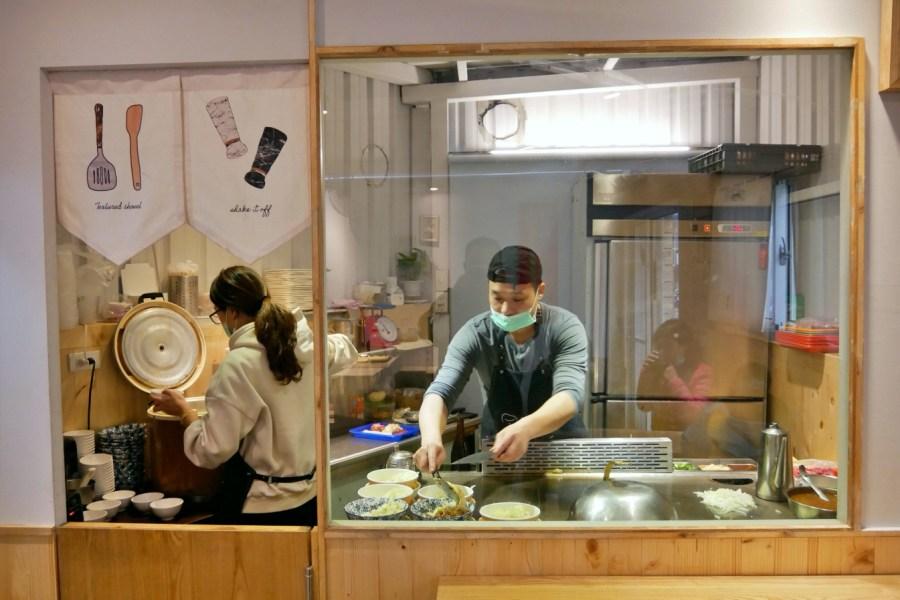 [桃園美食]食弐鐵板料理 桃園藝文特區~百元有找的平價鐵板燒.轉角小店 @VIVIYU小世界