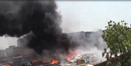 Gazipur-(3)- 28 March 2020-Fire At Konabari-1