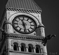 Toronto Old City Hall Clock