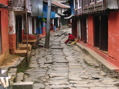 Annapurna Circuit trek. Nepal 2007